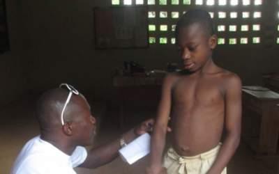 Lèpre : un dépistage au Sénégal