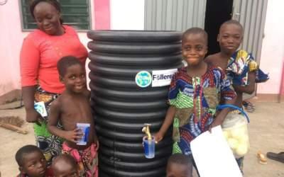Ile d'Agonvè : La santé au fil de l'eau