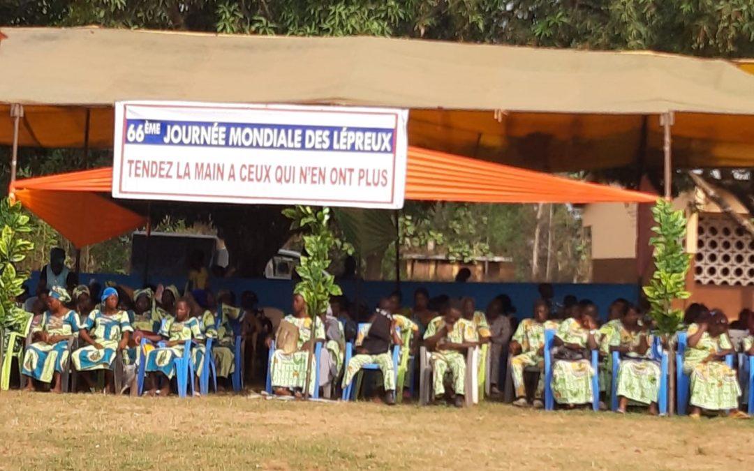 La Journée Mondiale des Lépreux en Afrique