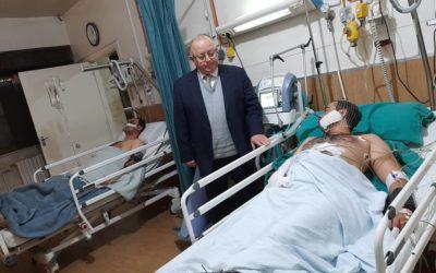 Syrie : Un hôpital soutenu par la Fondation touché par des bombardements
