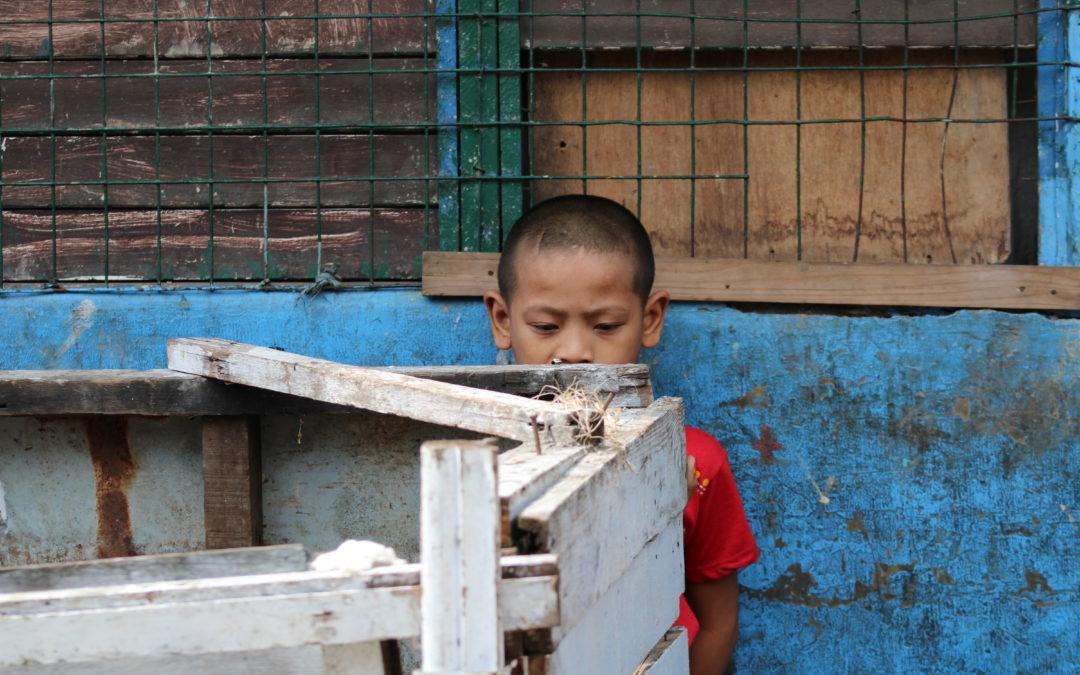 Philippines : Les travaux de reconstruction après l'incendie ont commencé