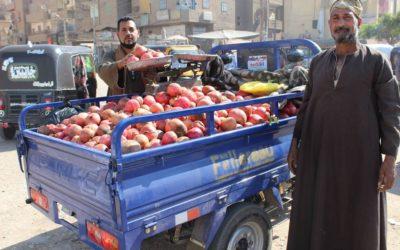 Un travail grâce à des tricycles et des tuktuks
