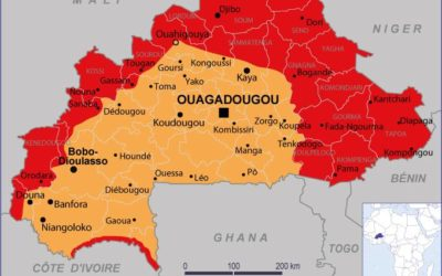 Le Burkina Faso vit une grave crise des déplacés