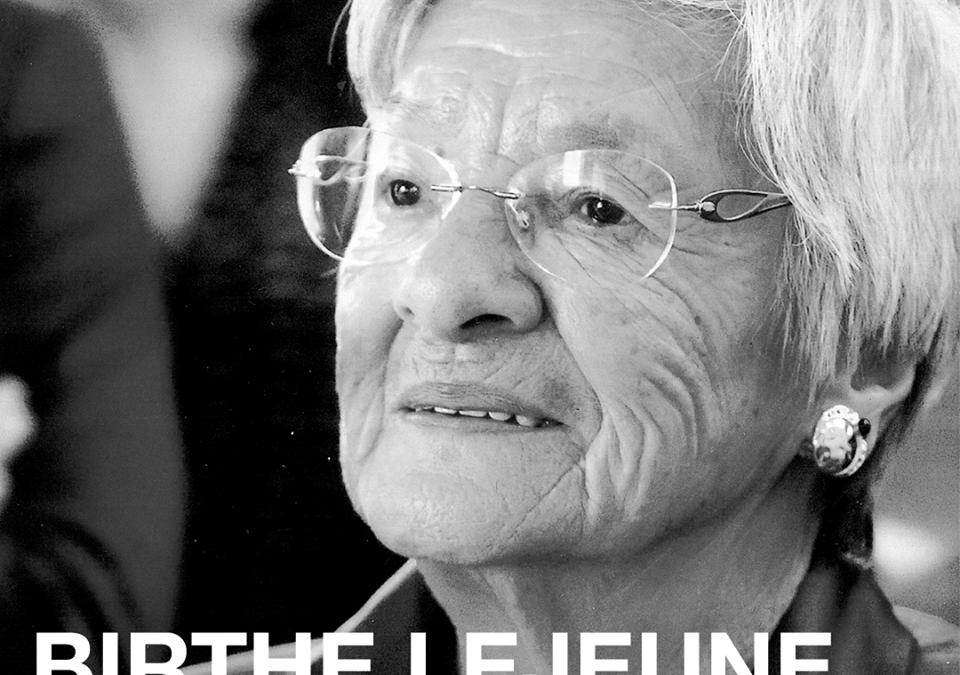 Hommage à Madame Birthe Lejeune