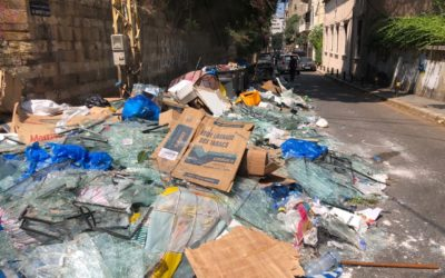 Désolation à Beyrouth