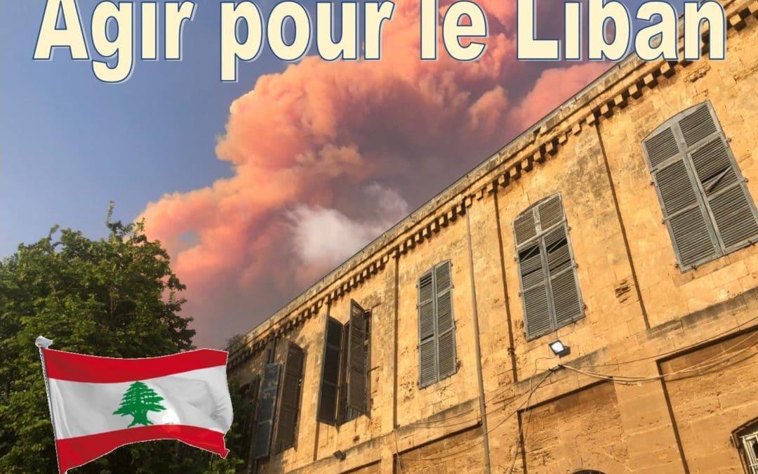 Agir pour le Liban