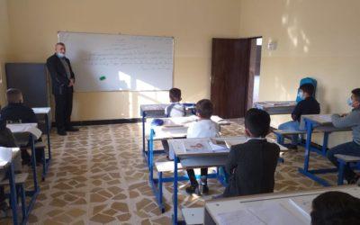 Irak : Premier jour de classe à Qaraqosh