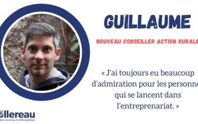 Rencontre avec Guillaume, conseiller Action Rurale