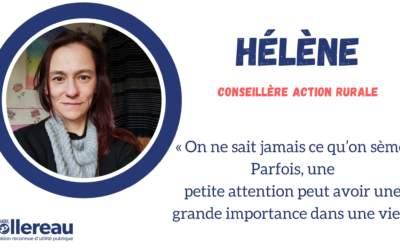Rencontre avec Hélène, nouvelle conseillère action rurale