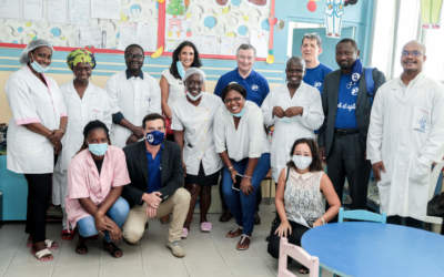Côte d'Ivoire : Des bénévoles se mobilisent pour les enfants malades